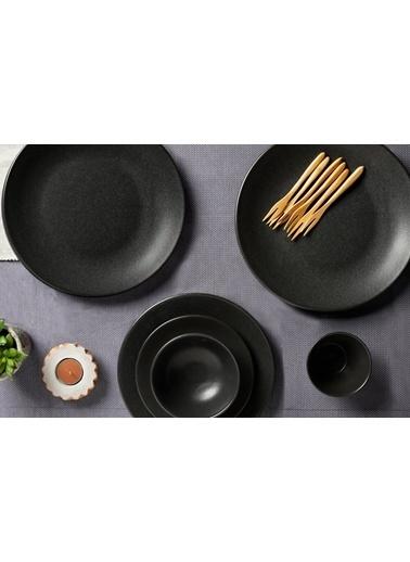 Porland Seasons Siyah 27 Parça 6 Kişilik Yemek Takımı Siyah